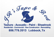 JRs Tape and Red: Texture - Acoustic - Paint - Sheetrock