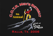 COTR: Mens Retreat: 9th Annual
